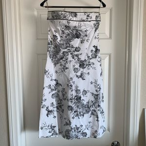 Teeze Me Strapless A Line Cotton dress